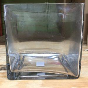 "Cube 6"" CLR Glass"