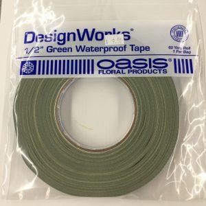 """Tape 1/2"""" Green Waterproof"""